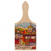 Magnet with landscape Bulgaria - bread-board