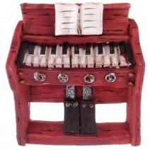 Magnet souvenir - retro piano