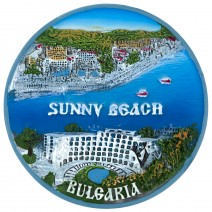 Magnet souvenir - Sunny Beach