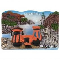 Magnet souvenir - Sozopol