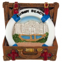 Magnet souvenir - Sunny Beach - suitcase