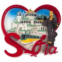 Magnet souvenir - Sofia