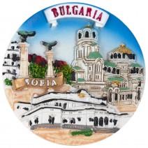 Magnet souvenir - Sofia 4