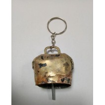 Hand-made bell keychain