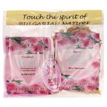 Salt Set + Color + Rose Soap