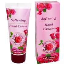Rose Natural Softening Rose Natural Hand Cream with Rose Water
