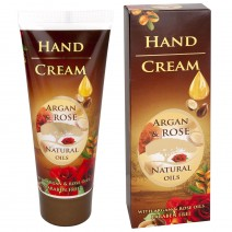 Hand cream with Argan and natural Bulgarian rose oil