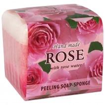Rose Soap Sponge 2