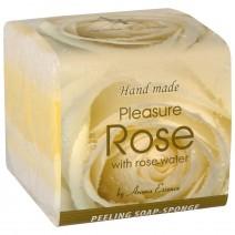 Rose Soap Sponge 3