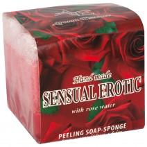 Rose Soap Sponge 5