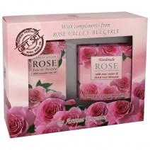 Gift set Rose 1 - perfume + soap