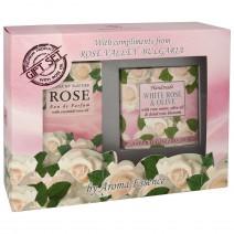 Gift set Rose 2 - perfume + soap