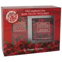 Gift set Rose 3 - perfume + soap