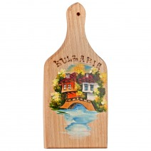 Wooden board painted - small