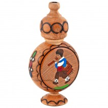 Muskal wooden small wine vessel with rose essence