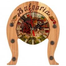 Household Souvenir Clock - Horseshoe