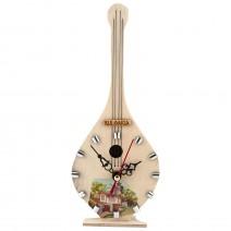 Souvenir clock - musical instrument - 1