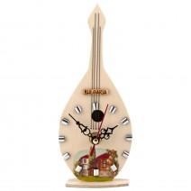 Souvenir clock - musical instrument - 2