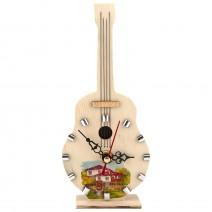 Souvenir clock - musical instrument - 3