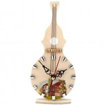 Souvenir clock - musical instrument - 4