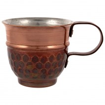 Copper cup for coffee - big