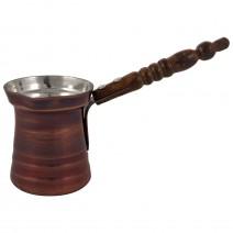 Copper pot for 1 coffee