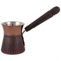Copper pot for 2 coffee