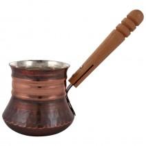Copper pot for 4 coffee