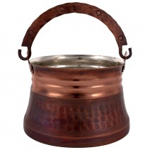 Copper pot 0.8 liters