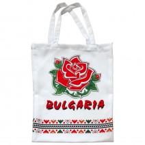 Textile bag with Bulgaria print