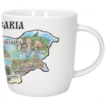 Porcelain souvenir cup - Bulgaria