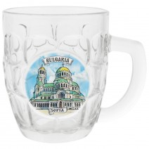 Glass Beer Souvenir small size - different resorts