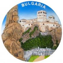 Souvenir plate Vidin - Belogradchik - 16 cm