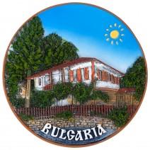 Souvenir plate Bulgaria - 14 cm