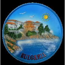 Poliresin plate Bulgaria 14 cm