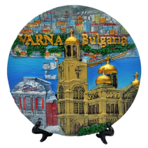Poliresin plate Varna 16 cm