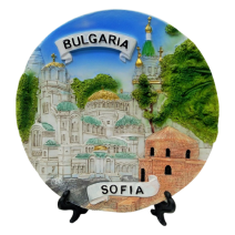 Poliresin plate Sofia 16 cm
