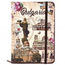 Souvenir notebook with stamp Bulgaria