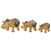 Jewelry - 3 elephants