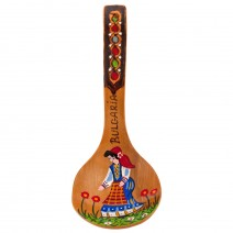 Small pyrographic scoop Bulgaria