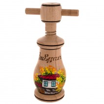 Wooden nutcracker drawing Bulgaria