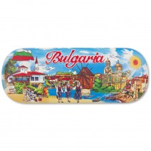Glasses box with stamp Bulgaria