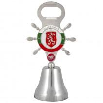 Souvenir metal bell - steering wheel