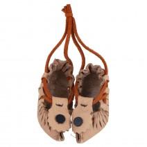Souvenir pair of leather BG shoes