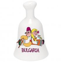 Souvenir ceramic bell - Fun folklore
