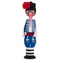 Souvenir doll in traditional costume 11 cm