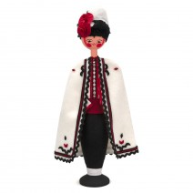 Souvenir doll in traditional costume 26 cm
