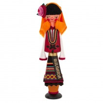 Souvenir doll in traditional costume 17 cm
