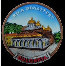 Poliresin magnet Rila monastery