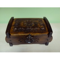 Wooden carving box